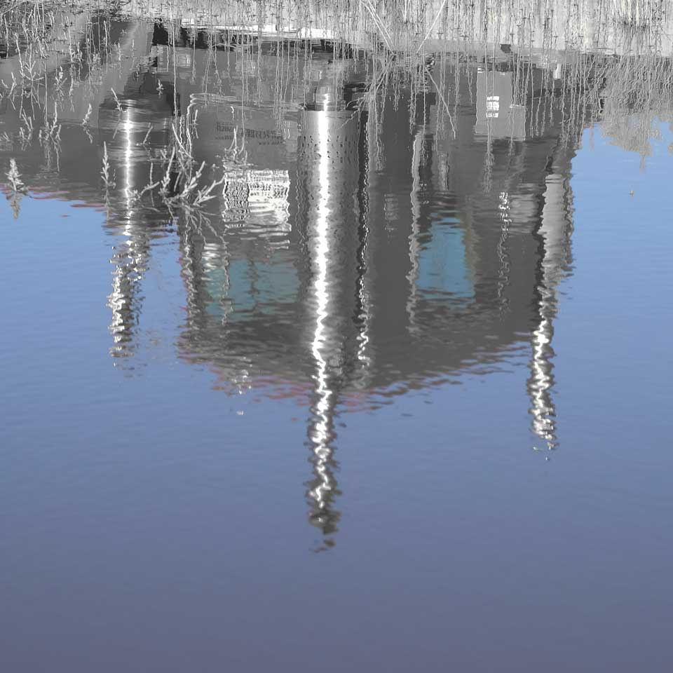 Silver reflection