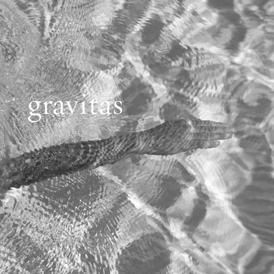 Collaborative book project, Gravitas, with Kappy Wells
